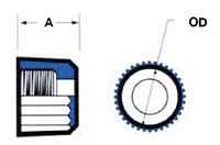 TA and TS Nut Style Spare Part - Schematic